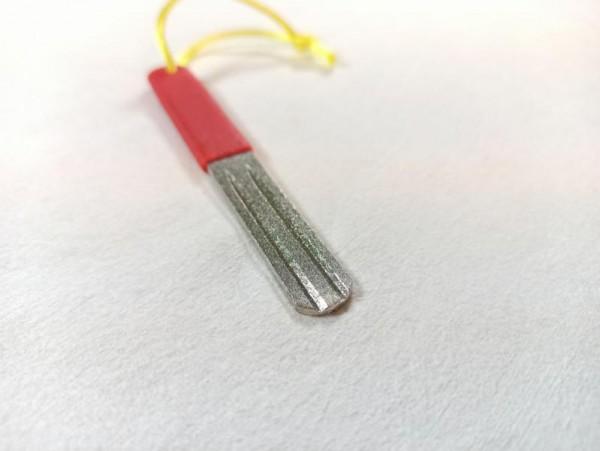 Hakenschleifer ( rot ) mit Doppelnut